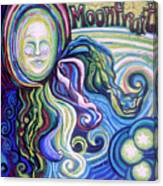Moonfruit Canvas Print