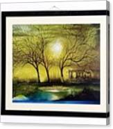 Moonlight At Masinagudi Canvas Print