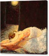 Moonlight Ballet Canvas Print