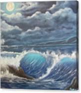 Moonlight Fantasy Canvas Print