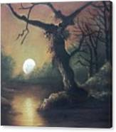 Moonlight Harmony Canvas Print