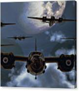 Moonlight Marauders Canvas Print