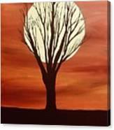 Moonlight Mile Canvas Print