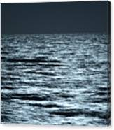 Moonlight On The Ocean Canvas Print