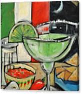 Moonlight Over Margaritaville Canvas Print