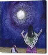 Moonlight Prayer Canvas Print