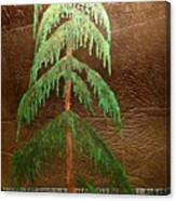 Moonlit Cedar  Canvas Print