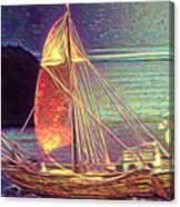Moonlit Corbita I Canvas Print
