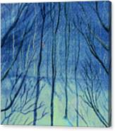 Moonlit In Blue Canvas Print