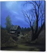 Moonlit Path Canvas Print