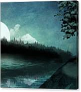 Moonlit Peace Canvas Print
