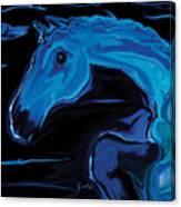 Moonlit Run Canvas Print