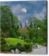 Moonrise Meditation Canvas Print