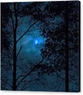Moonshine 10 Blue Sky Canvas Print