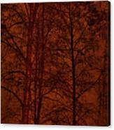 Moonshine 11 Red Sky Canvas Print
