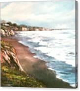 Moonstone Cliffs Canvas Print
