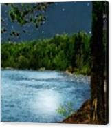Moonstruck 'my Starry Night' Canvas Print