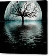 Moontree Canvas Print