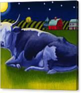 Mooonlight Canvas Print