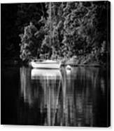 Moored 2 Canvas Print