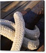 Mooring Rope Canvas Print
