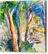 Moorish Castle In Sintra 02 Canvas Print