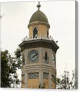 Moorish Clock Tower In Guayaquil Canvas Print