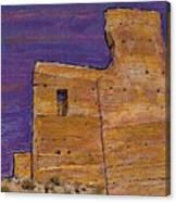 Moorish Fort In Jumilla Canvas Print