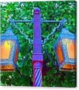 Moorish Lantern Canvas Print