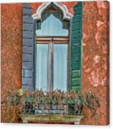 Moorish Window And Texture Venice_dsc5350_03052017 Canvas Print