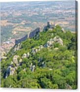 Moors Castle Aerial Canvas Print