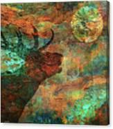 Moose Calls Canvas Print