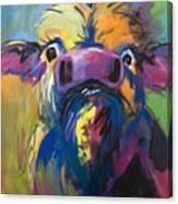 Moove Aside Canvas Print
