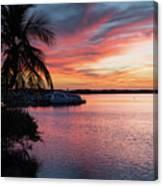 Morado Sunset Canvas Print