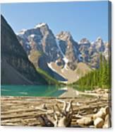 Moraine Lake - Canadian Rockies Canvas Print