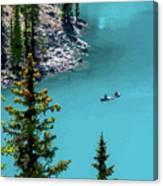 Moraine Lake - 2 Canvas Print