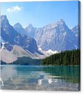 Moraine Lake Down Low Canvas Print