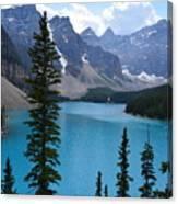 Moraine Lake II Canvas Print
