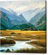 Moraine Park Canvas Print