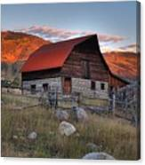 More Barn Steamboat Canvas Print