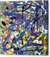 More Blueness Canvas Print