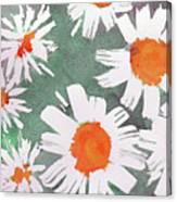 More Bunch Of Daisies Canvas Print