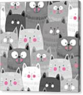 More Cats Canvas Print