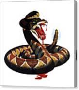 More Dangerous Than A Rattlesnake - Ww2 Canvas Print