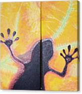 More Geckos Canvas Print
