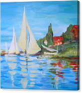 More Of Monet Canvas Print