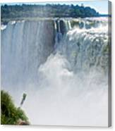 More Waterfalls At Devil's Throat In Iguazu Falls National Park-  Canvas Print
