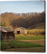 Morgan County Farm Valey Canvas Print