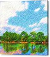 Morikami Canvas Print