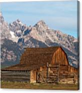 Mormon Barn Canvas Print